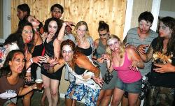 (Harmless) zombie mob set to visit Bdwk. Saturday