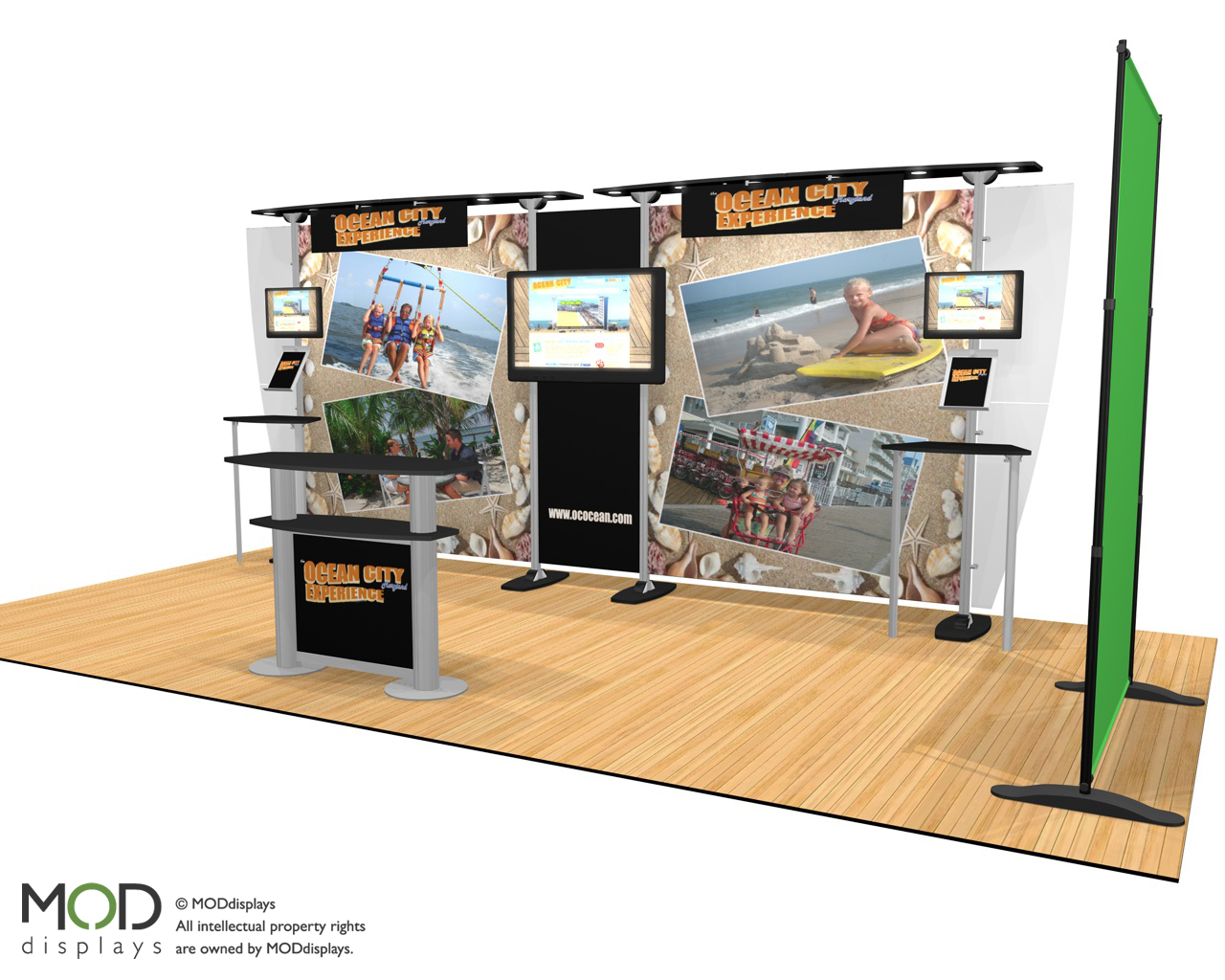 """Booth will provide """"OC Experience"""" at regional trade, travel shows"""