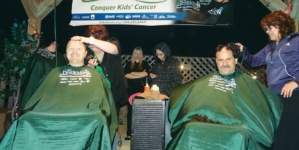 Local men (and women) going bald for Baldrick's