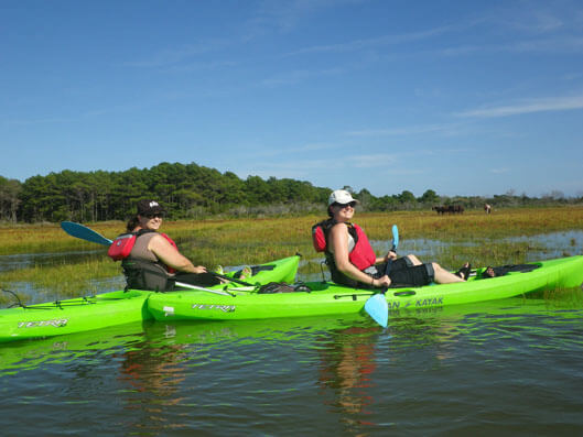 superfun kayak-tours-at-assateague