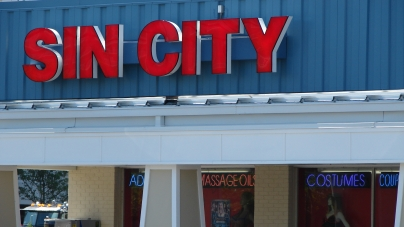 From Sin City to Deja Vu, store complies with city