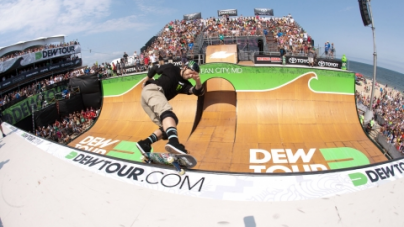 DEW TOUR BEACH CHAMPIONSHIPS CONTINUE WITH SKATE VERT SEMI-FINALS, FEATURING BUCKY LASEK