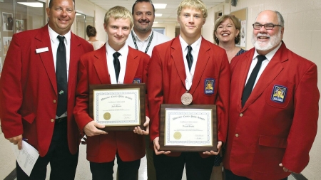 Worcester students earn top awards in SkillsUSA contest