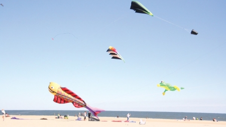 Colorful kites will fill Ocean City sky this wknd.