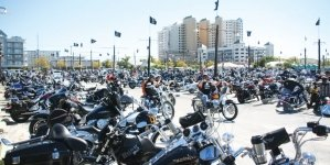 Bikes to the Beach Spring Rally in full swing