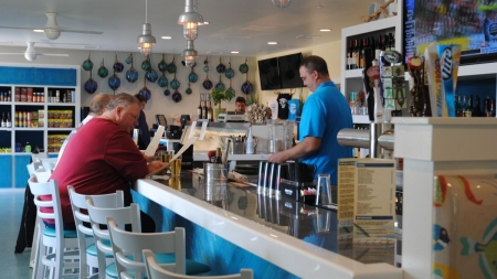 Back from the ashes, Waterman's reopens