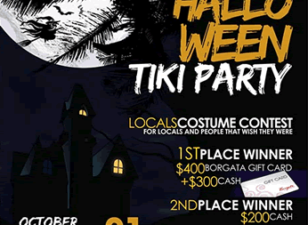 Seacrets' Second Halloween Extravaganza For Locals, and People Who Wish They Were