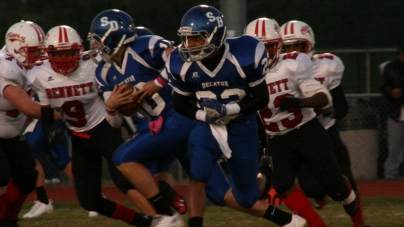 Decatur football squad earns 49-0 shutout over JMB