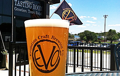 Drink Local, Drink the Future with Evolution Craft Brewing Company