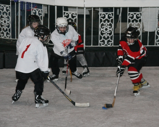 First ice hockey tourney big hit