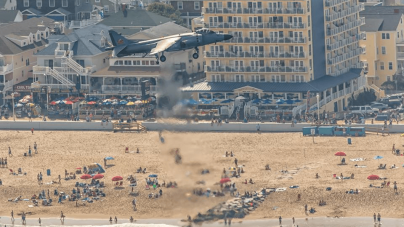 Take the bus to the OC Air Show
