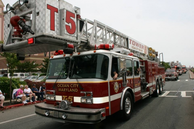 Maryland's Firemen Convene in Ocean City for 122nd Annual Convention