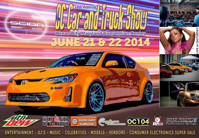 The Hottest Vehicles in the Country Overtake Ocean City June 21-22for the Annual OC Car & Truck Show