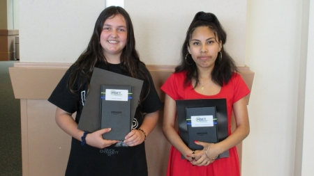Two county students score awards in MSET's contest