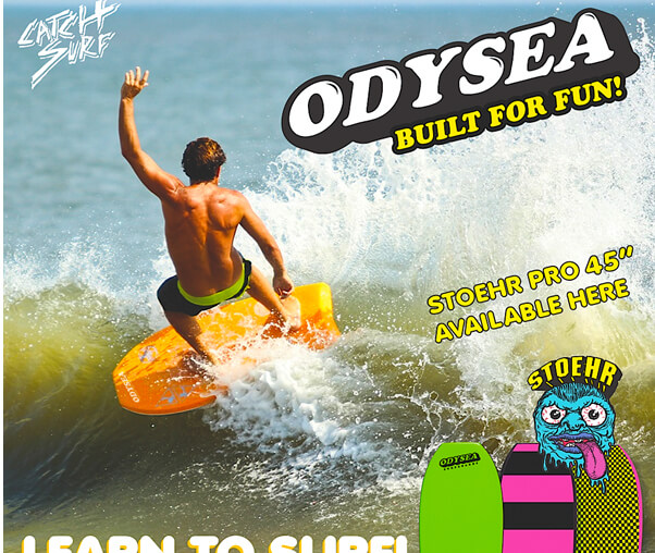 Sneak Peak of the new Catch Surf window graphic