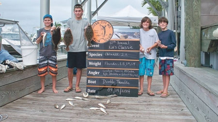 Junior anglers in spotlight during OCMC Kid's Classic