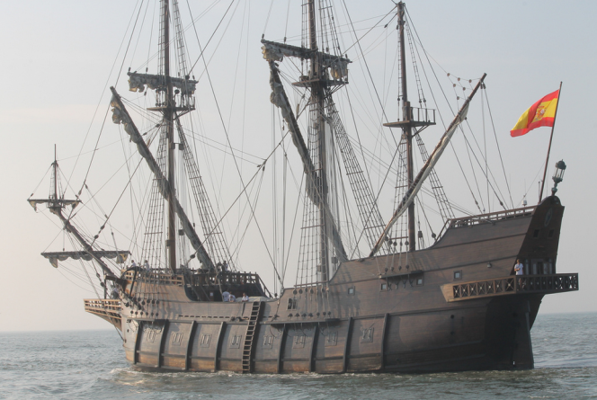 Sail Back In Time Aboard the Spanish Tall Ship El Galeon Andalucía