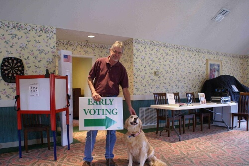Early voting now running at Gull Creek, through Oct. 30