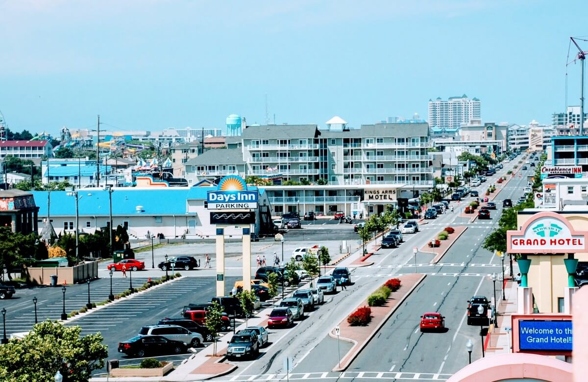 Ocean City Car Show 2020.A Guide To Choosing Parking In Ocean City Ocean City