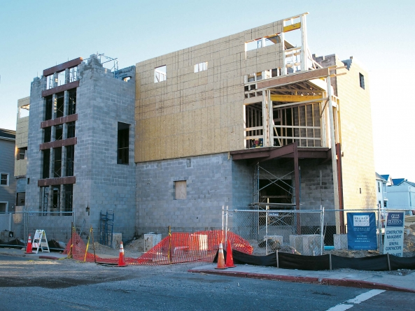 Hall buildings to be razed soon