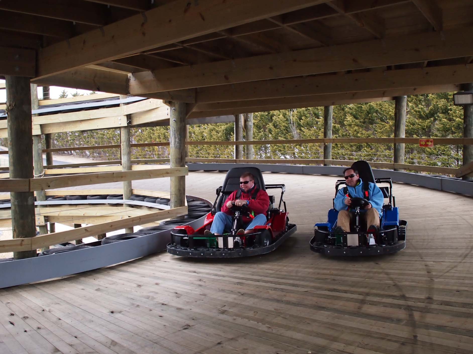 Jolly Roger debuts elevated go-kart track at 32nd St.