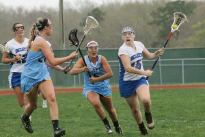 Decatur girls' lax team edges out QA's in overtime