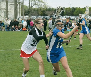 Decatur girls' lax team wins battle against WP, 14-10