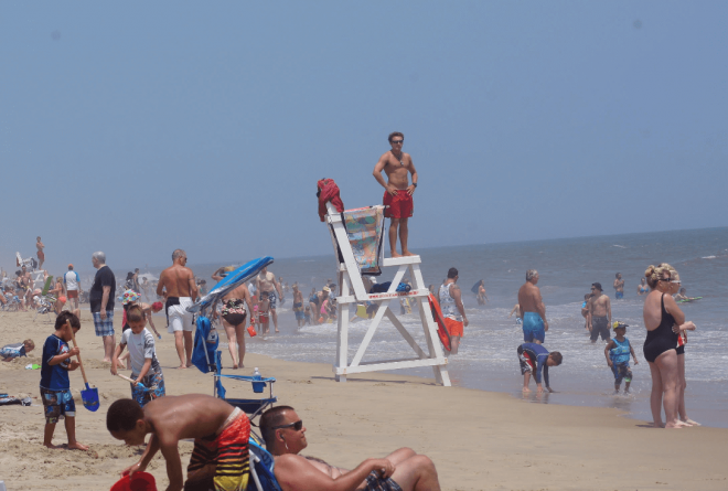 Ocean City Beach Patrol Coverage Reduced As Seasonal Employees Head Home
