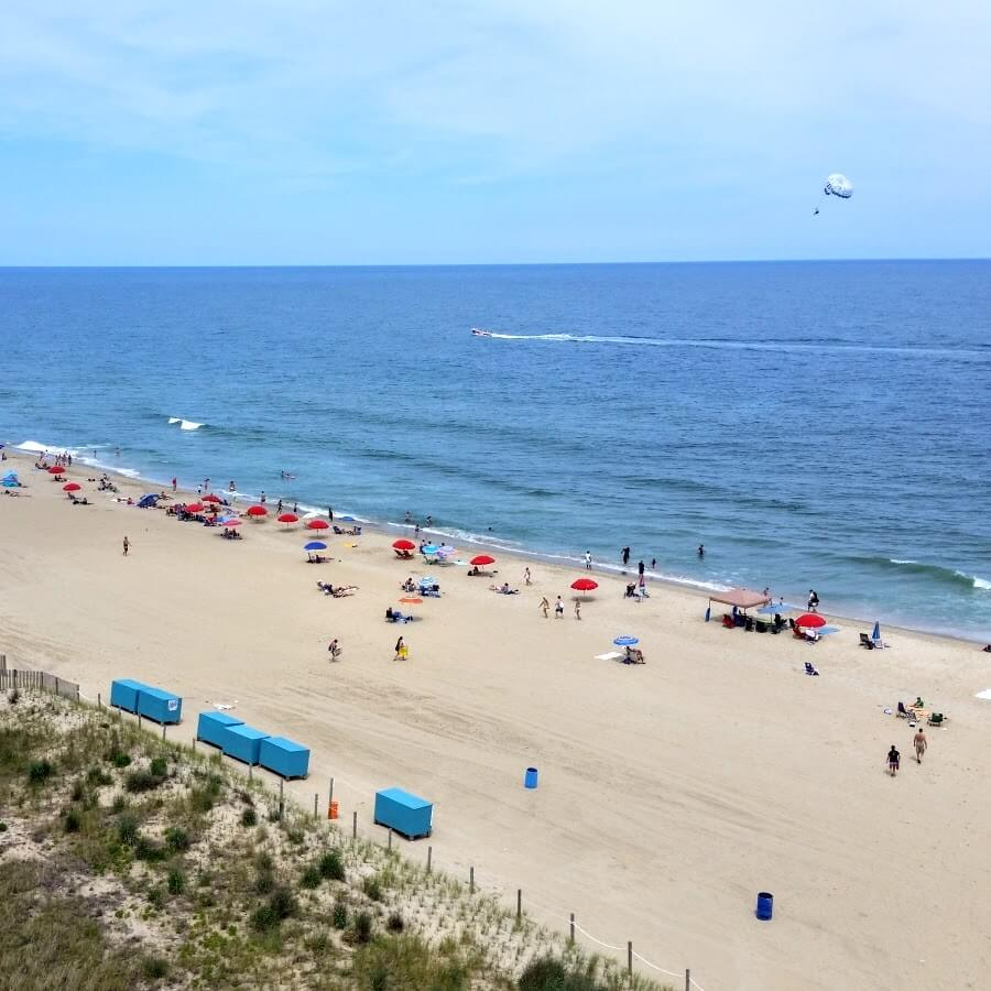 Dunes hotel oceanfront views