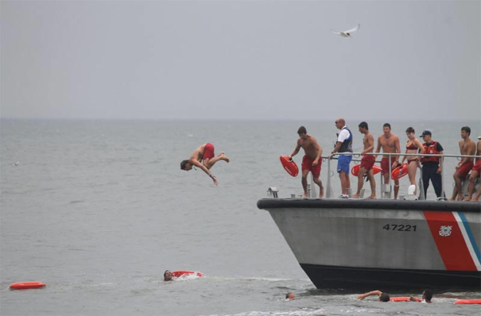 Ocean City Beach Patrol Testing for Summer 2019