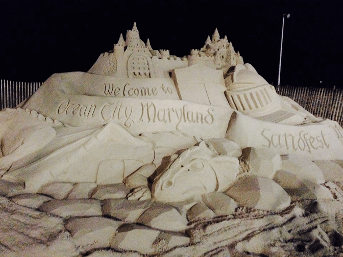 OC Sandfest 2014 Ocean CIty MD