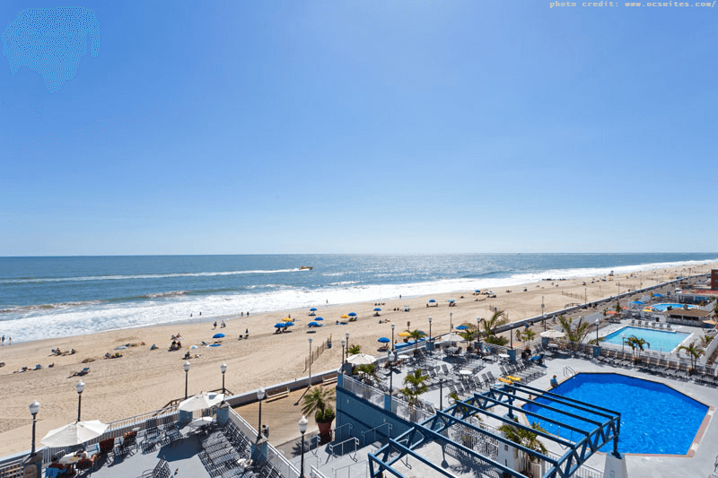 Oceanfront hotels in Ocean City MD Holiday Inn Oceanfront