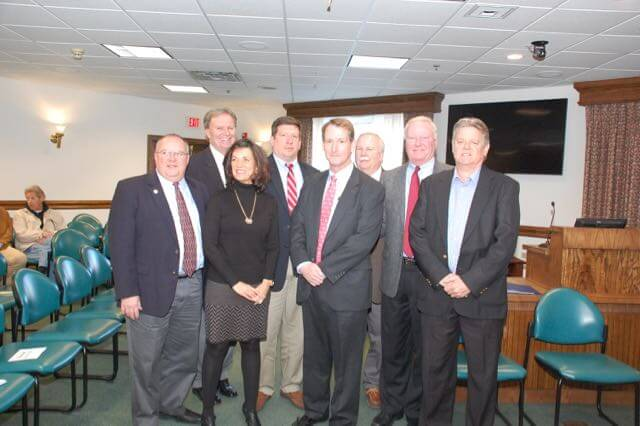 Miller and Council members
