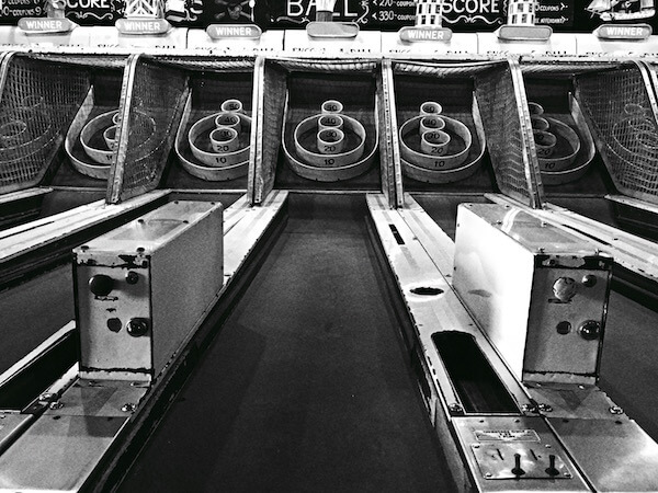 Skee Ball lane