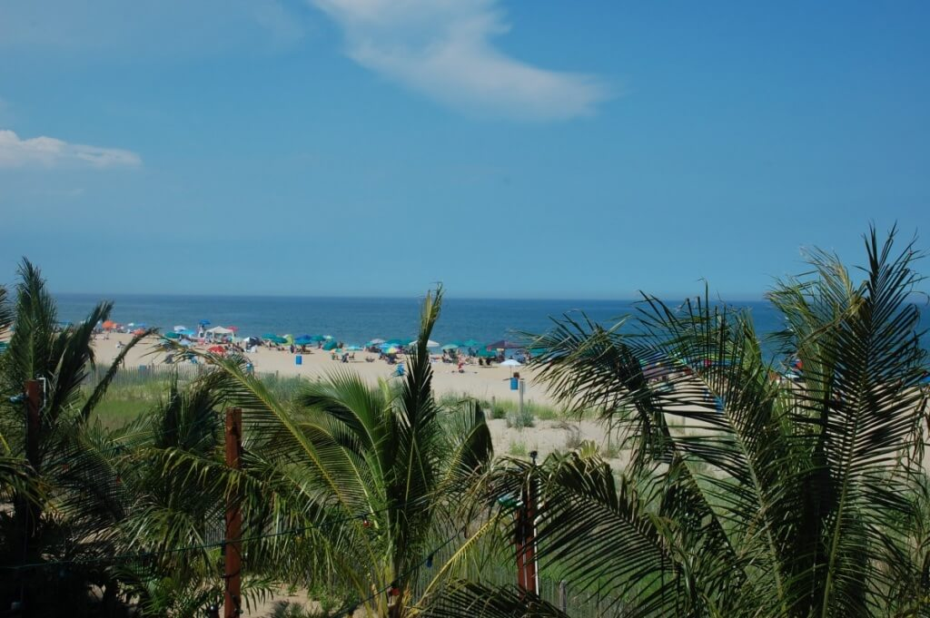 Coming out of the back deck on your way down to the outside bar provides one of the more peaceful views in Ocean City.
