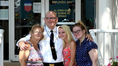 """Charles """"Chuck"""" Barton Retires from Ocean City Fire Department after 33 Years of Service"""