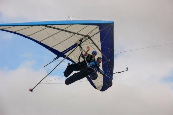 Is Hang Gliding the perfect day trip? Probably.