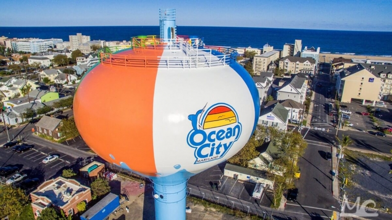Ocean City Beach Ball adds fun flare to downtown skyscape