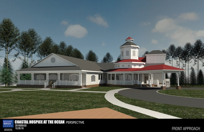 Stansells give $250,000 to Coastal Hospice to complete new center