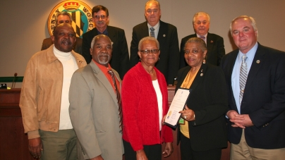 Worcester County Commissioners present Black History Month proclamation