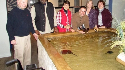 Opening of the Hazel Family Foundation Touch Pool announced