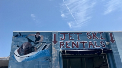 The best place to jet ski in Ocean City is…