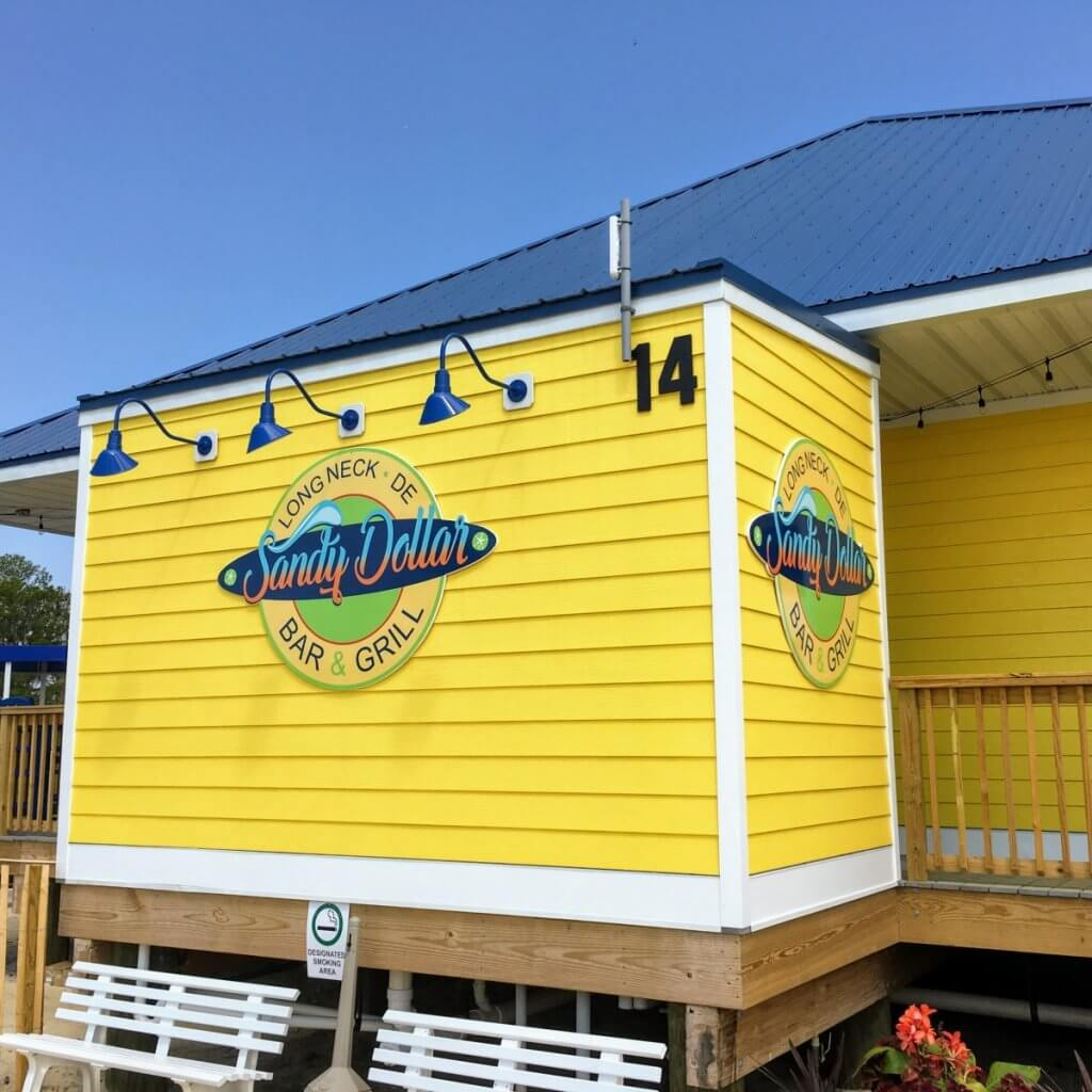 sand dollar bar and grill exterior