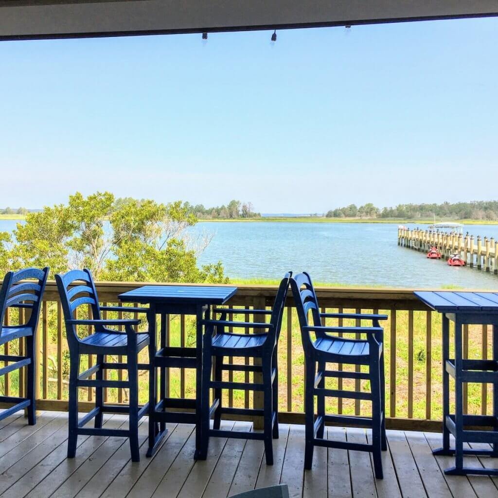 sandy dollar bar and grill view