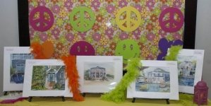 Peace, Love & Sandcastles: the Art League's 13th Sandcastle Home Tour