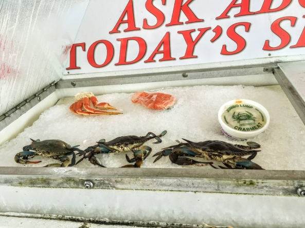 Get fresh fish from the Shrimp Boat all year