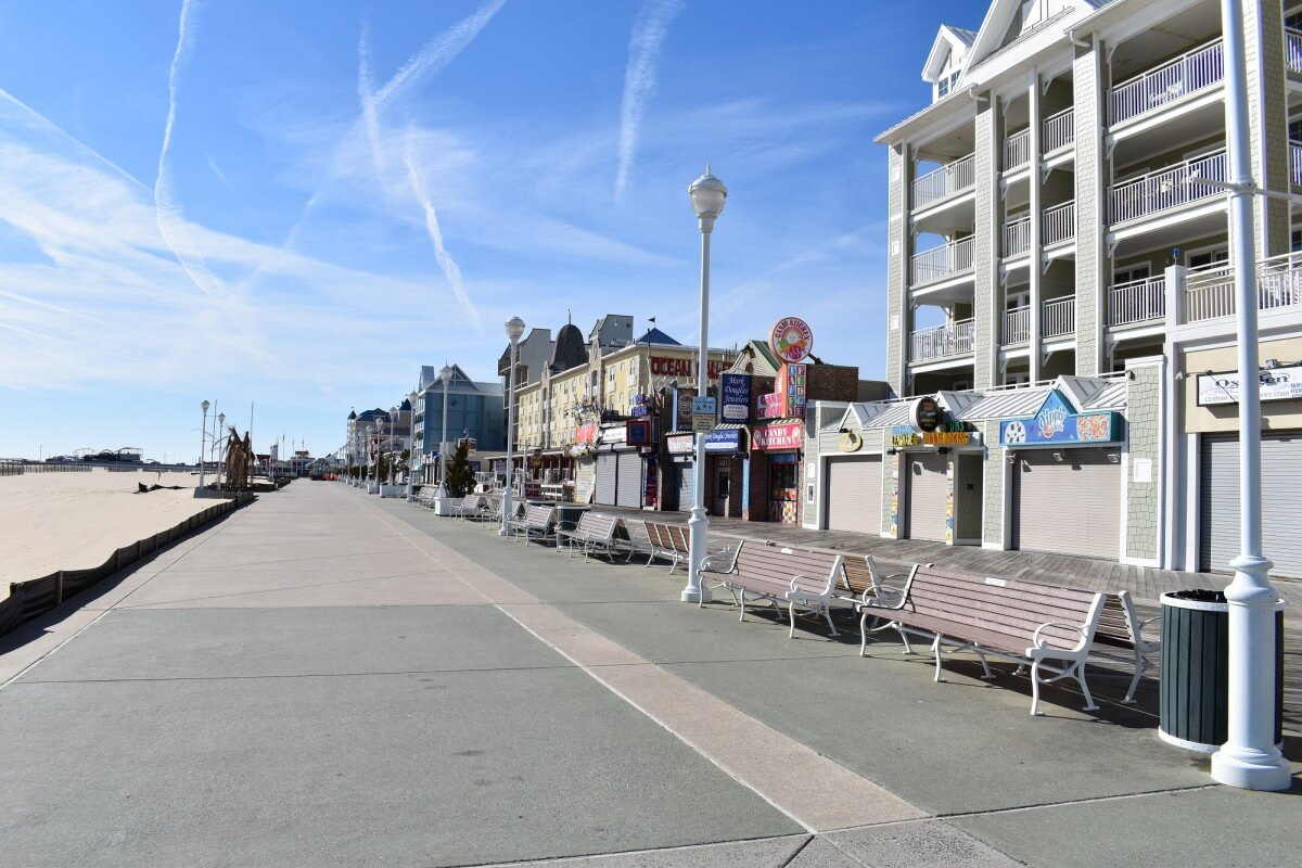 January boardwalk