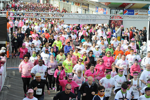 Annual Komen Maryland Ocean City Race for the Cure on April 14