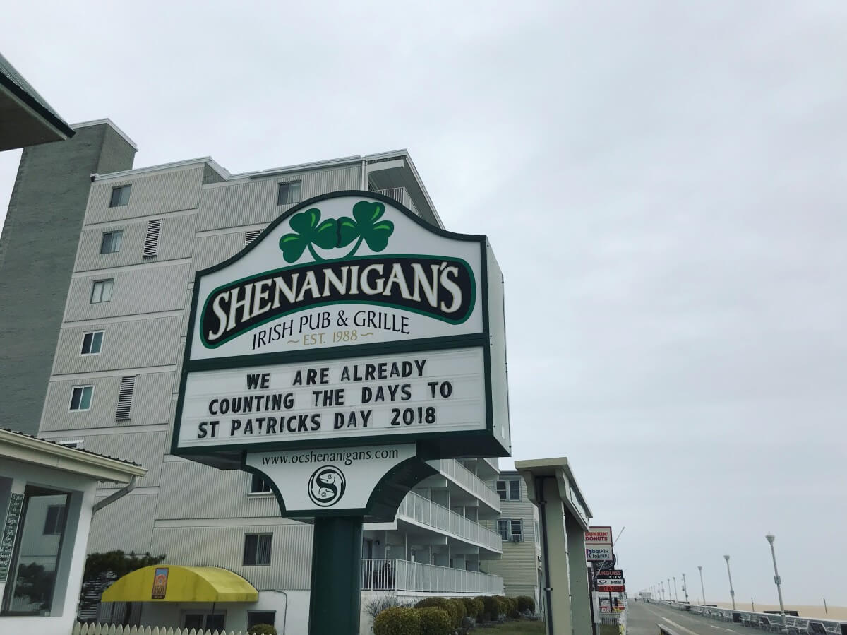 Ocean City Shenanigan's