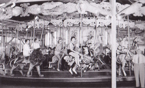 trimpers old carousel